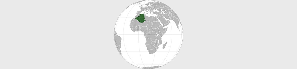 algérie-carte